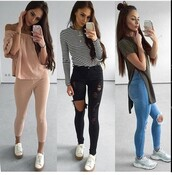 shoes,outfit,outfit idea,summer outfits,cute outfits,spring outfits,date outfit,party outfits,clothes,fashion,style,stylish,streetstyle,streetwear,casual,trendy,long sleeves,top,black and white,stripes,striped top,slit top,slit,summer top,cute top,white top,black top,jeans,ripped jeans,skinny jeans,black jeans,high waisted jeans,black ripped jeans,pants,black pants,skinny pants,black high waisted pants,high waisted pants,summer pants,blue jeans,light blue jeans,off the shoulder,off the shoulder top,two piece dress set,two-piece,sneakers,low top sneakers,party shoes,cute shoes,summer shoes