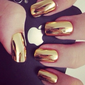 gold nail stickers nail accessories