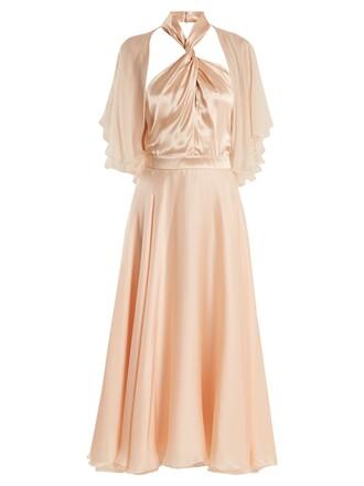 dress midi dress midi silk light pink light pink