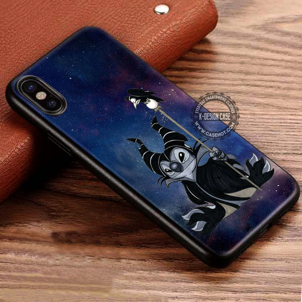 Stitchficent Stitch Maleficent iPhone X 8 7 Plus 6s Cases Samsung Galaxy S8 Plus S7 edge NOTE 8 Covers #iphoneX #SamsungS8