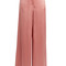 Hammered-satin wide-leg trousers