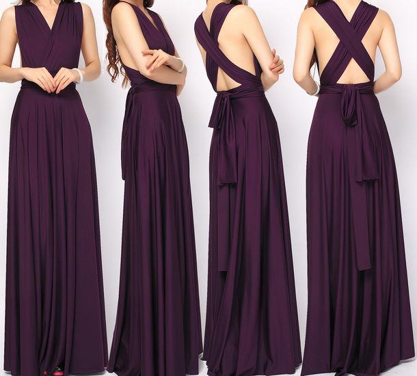 Infinity Wedding Dress Larimeloom: Dress, Infinity Dress, Bridesmaid, Long Bridesmaid Dress