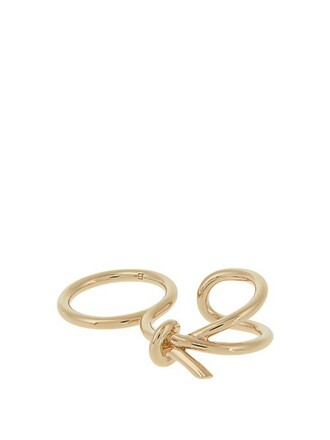 bow ring gold jewels