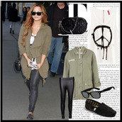 jacket,demi lovato,lovatic