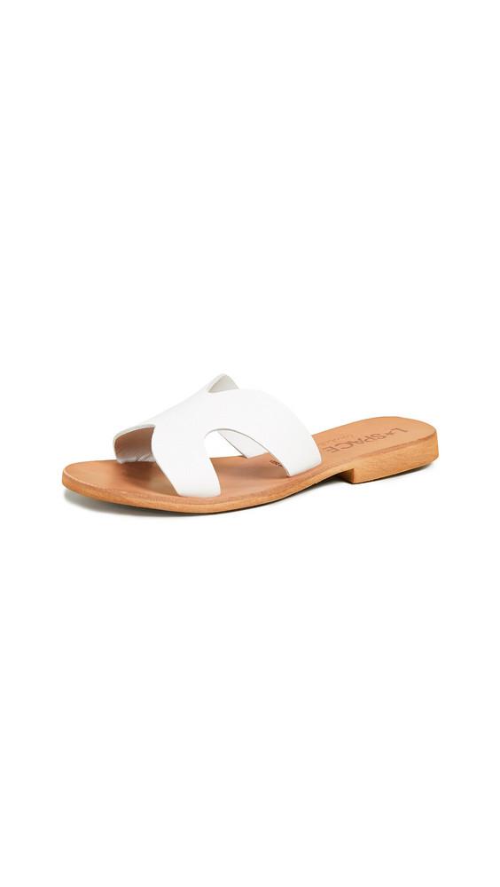 Cocobelle Los Slide Sandals in white