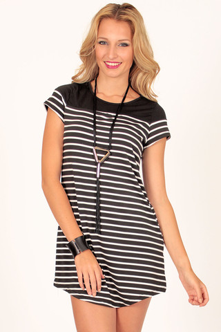 All Sorts Stripe Dress | Foxx Foe