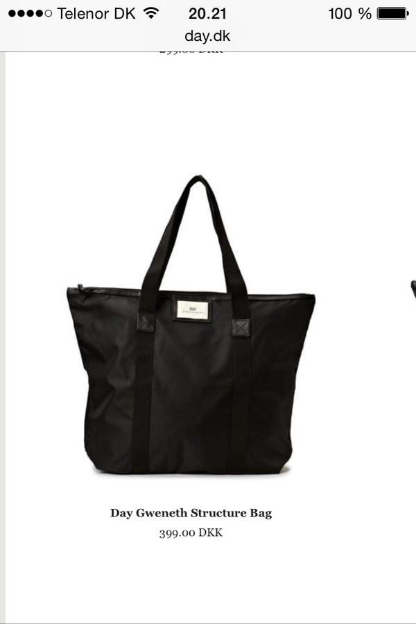 bag day black glitter