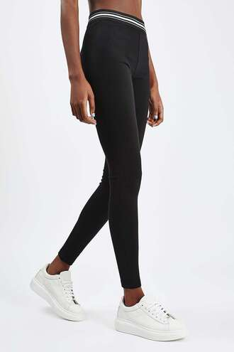 leggings black leggings casual