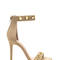 Earn your rings faux leather heels nude black - gojane.com
