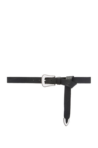 mini belt waist belt black