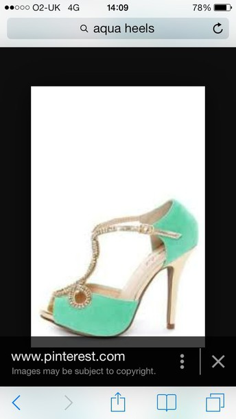 shoes aqua high heels