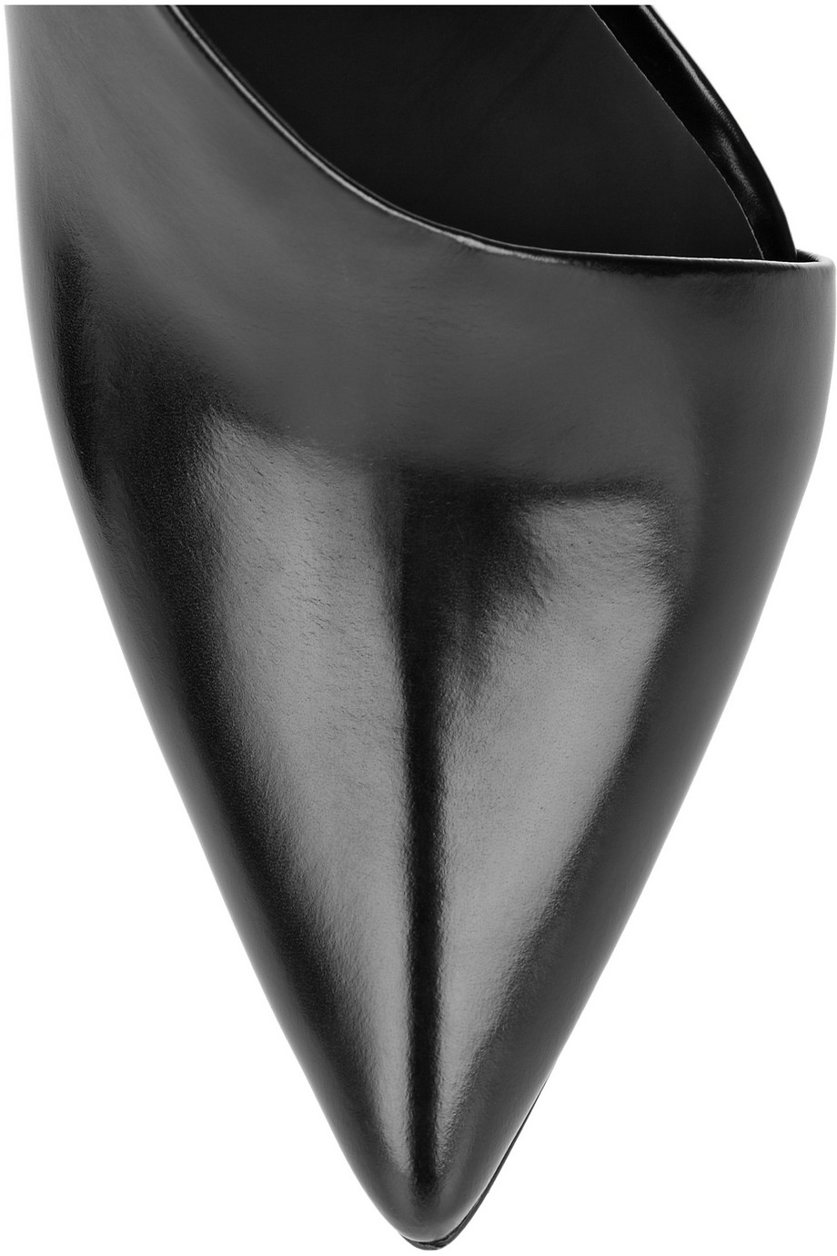 Alexander Wang Edie cutout leather slingbacks – 50% at THE OUTNET.COM