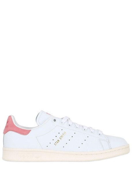 Adidas Originals sneakers leather white pink shoes