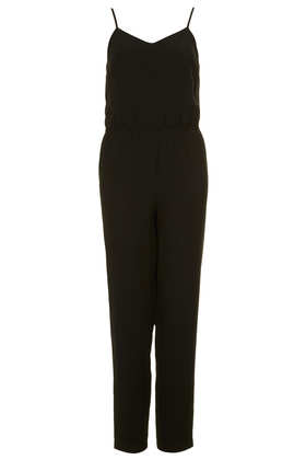Heavy Lux Strappy V Jumpsuit - Topshop