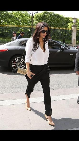 pants kim kardashian