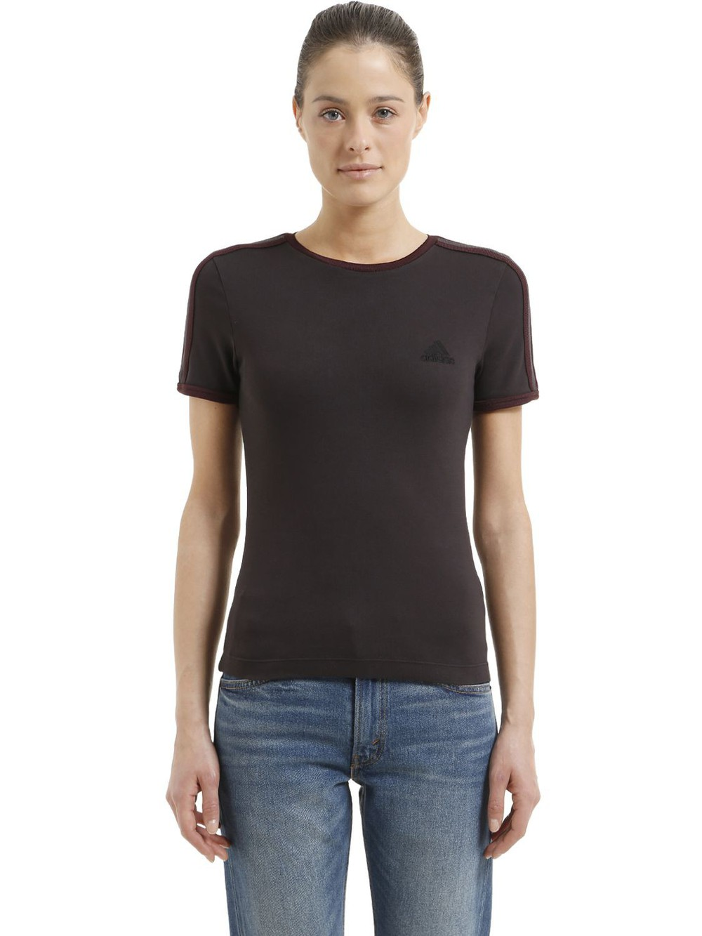 YEEZY Baby Fit Cotton Jersey T-shirt in black