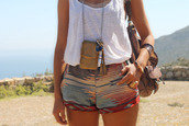 shorts,gypsy,brown,summer,top,white,indian,aztec,cute,pretty,beautiful,boho,indie,festival,shoes,style,clothes,dreas,dress,color/pattern