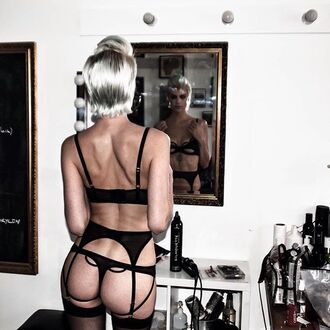 underwear thong black bra girly women girl cute swimwear outfit style fashion tights undies bottoms cheeky pants panties