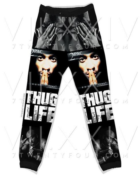 tupac sweatpants dope pants