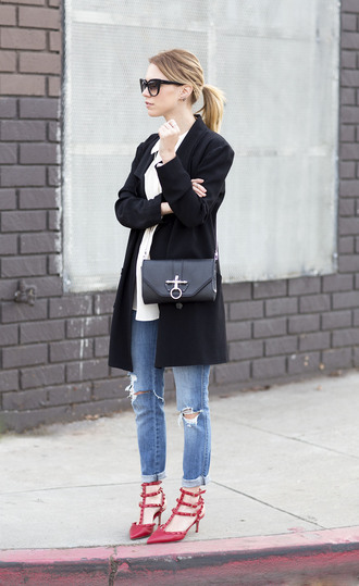 always judging blouse jacket jeans shoes bag sunglasses