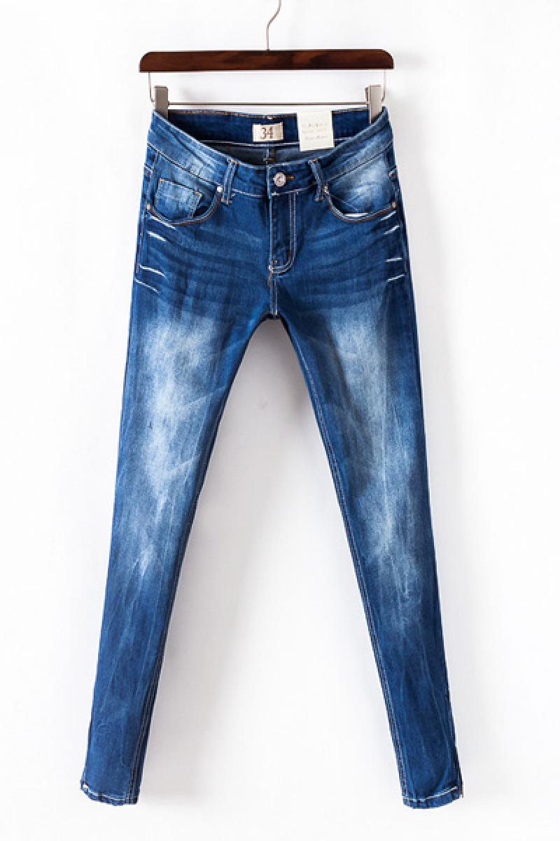 2013 Autumn & Winter New Section Slim Straight Washable Denim Ladies Carrot Jeans,Cheap in Wendybox.com