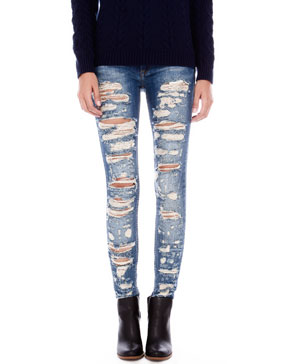 Ripped skinny jeans uk – Global trend jeans models
