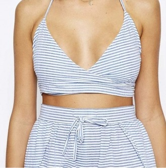 top girl girly girly wishlist stripes bra bra top bralette