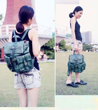 bag leather backpack backpack women backpack