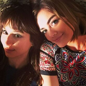 top instagram lucy hale troian bellisario pretty little liars