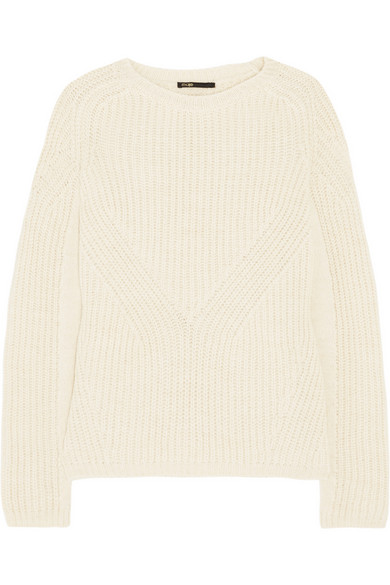 Maje | Dereck ribbed-knit sweater | NET-A-PORTER.COM
