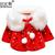 Baby child clothing girl Infant Winter Warm Coat Cloak Jacket Wool Blends Thick Warm Clothes Down outerwear & coats