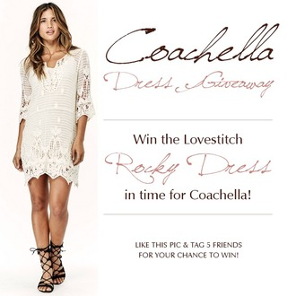dress lovestitch coachella sunglasses coachella dress white crochet music festival boho dress