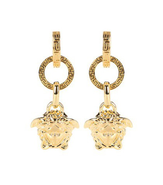 VERSACE earrings gold jewels
