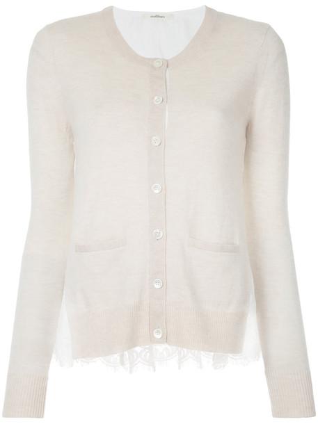 Onefifteen cardigan cardigan women classic nude cotton sweater