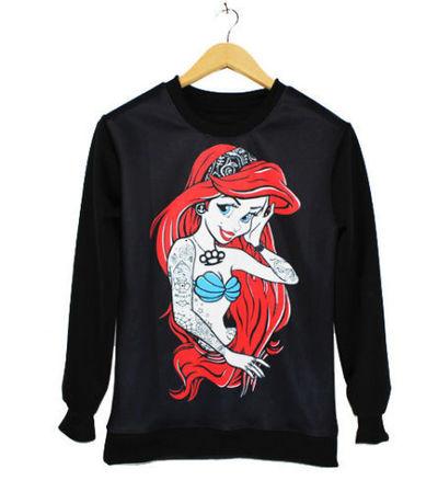 Ariel sweatshirt · nekori · asia style!