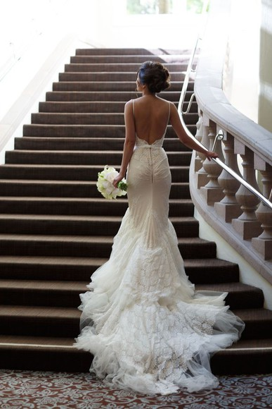 low back low back bridal dress bridal dress spaghetti