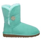 shoes,light green,ugg boots,bailey button,ugg bailey button