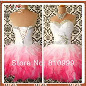 sexy prom dress,sexy dress,lace up,white dress,sweetheart dress,crystals short prom dress,hot sale prom dresses,organza,organza dresses,dress