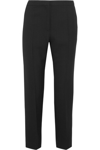 pants black wool
