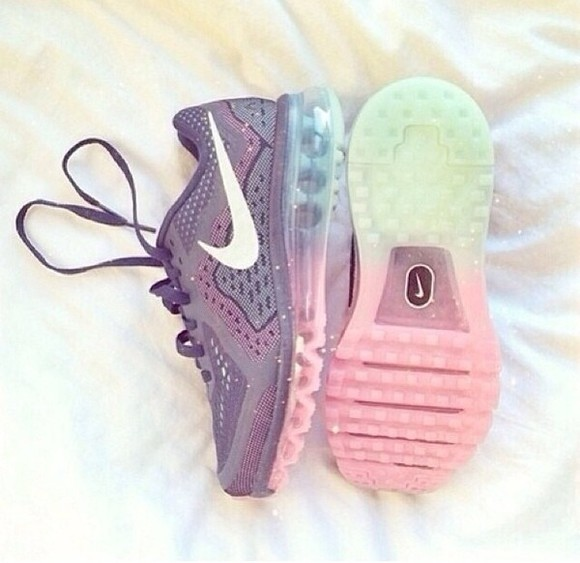 shoes rainbow nikeshoes nike sneakers nike fitness colorful, rainbow, pastel, sparkle, pink, blue, green, purple purple shoes nike running shoes sneakers sportswear running shoes running shoes