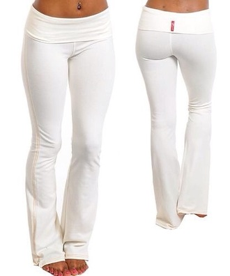 pants yoga pants white yoga pants white pants style