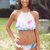 Bossy The Label - Meshed-Up Bikini Set - Tied-Up Print
