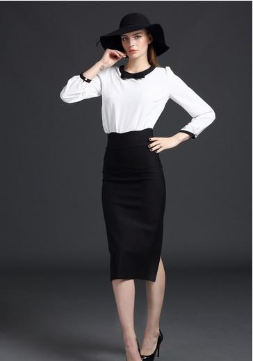 Split peplum skirt · australian wardrobe · online store powered by storenvy