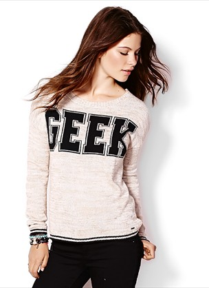 Geek Sweater - Sweaters - Garage
