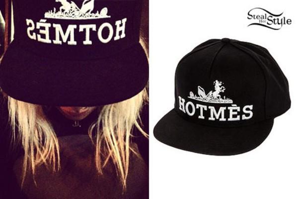 hat black skateboard snapback cap