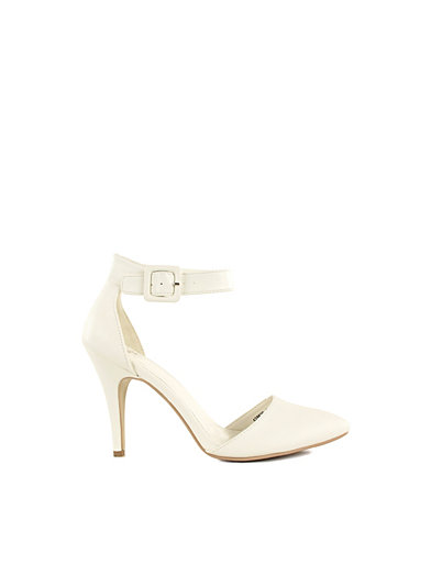 Pointed Toe Pump - Nly Shoes - Wit - Uitgaansschoenen - Schoenen - Vrouw - Nelly.com