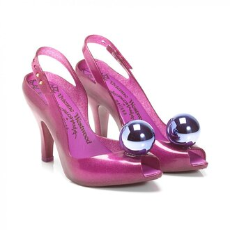 shoes pink high heels vivienne westwood glitter shoes halloween costume