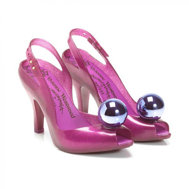 shoes vivienne westwood high heels glitter shoes halloween costume pink