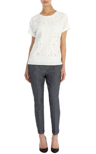Karen Millen Tailored jacquard trouser : A Tailored Take
