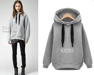 jacket sweatshirt grey big sweatshirt hoodie cozy winter fall oversided grey sweater fashion